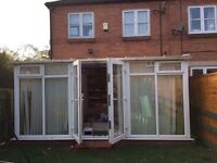 Conservatory and fittings