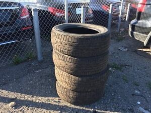 215/60 R16, 4 KUMHO summer tires in good condition