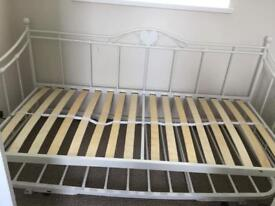 Day bed frame and trundle
