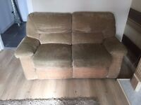 2 seater Suite With controlled Recliner