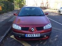 Renault magane 1.5 diesel 2004 with long mot till 2018
