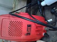 electruc power washer with parts