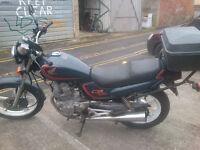 Honda CB250 (Nighthawk) in very good condition