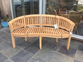 Brand New Garden Bench in Teak
