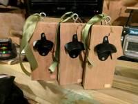Garden bottle opener