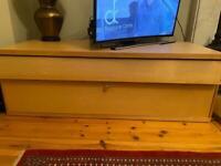 Ikea beech TV Unit with storage 145 cm x 60 cm