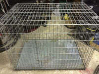 Metal Large Pet Cage with flooring tray
