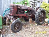 Vintage Tractor 1947 in very good condition(no rust)