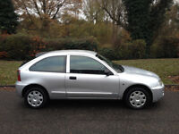 ROVER 25 1.4 2004(54) MOT AUGUST 2017 LOW MILEAGE CHEAP TO TAX AND INSURE-WE CAN DELIVER TO YOU