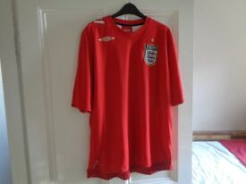 Mens England Jersey, football shirt, like new