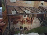 Glass veranda