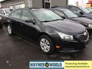 2012 Chevrolet Cruze LT Turbo w/1SA **SUNROOF* REMOTE STATER**