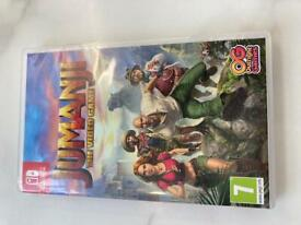 Nintendo Switch Game Jumanji