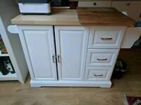 Kitchen island caddy unit cupboard storage