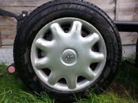 vauxhall zafira wheel with very good tyre in 25 pound