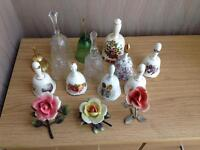 Selection of bells and roses