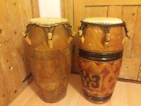 African Kpanlogo (Conga) drums