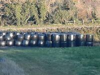 silage round bales