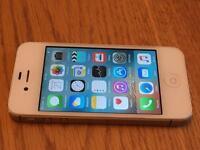 Apple iPhone 4s 8GB ee genuine hand set white