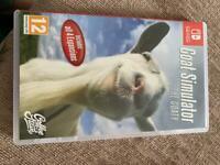 Goat simulator Nintendo switch