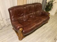 G2G! Leather Sofa Set (2 Seater + 3 Seater)