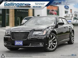 2014 Chrysler 300 S w/LEATHER, NAVIGATION, AND SUNROOF