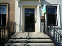 Office space to let, 435 sq.ft. 2 adjoining rooms, Somerset Place, Park area, Glasgow, G3