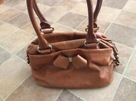 Ted Baker Bag, Tan Leather