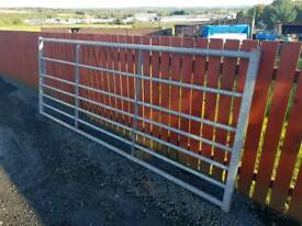 10ft galvanised field gate farm livestock tractor