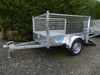 dalekane 6 x 4 fully welded trailer ,fully legal. for garden lawnmower quad ,not iforwilliams