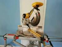 Dewalt 305mm 110v chopsaw and stand