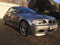 2005/55 BMW M3 CONVERTIBLE SMG...FULL SERVICE HISTORY...GREAT SPEC...BARGAIN!!