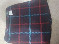 Ladies' tartan mini skirt - size 10