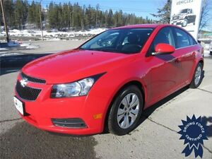 2014 Chevrolet Cruze 1LT 5 Passenger, 30,590 KMs, Cloth Seats