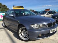 2004 Bmw 320 Ci SE -COUPE -FACE LIFT -92K MILES -SERVICE HISTORY -ALLOYS -CRUISE CONTROL -TOP SPEC