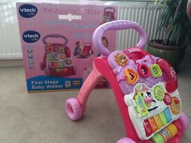 V TECH First Steps Baby Walker