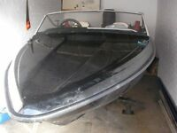 15ft fletcher speedboat with outboard and trailer