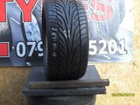 AC181. 1x 285/35/21 MFS 1x7MM DUNLOP SP SPORT 9000 - USED TYRE