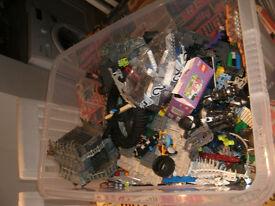 joblot of mix Lego/mega block sets