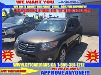 2011 Hyundai Santa Fe GL 2.4 4WD* ONLY $54 WEEKLY $0 DOWN!