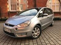 Ford S-Max 1.8 TDCi LX 5dr ++ 7 seater ++1 OWNER++FSH not galaxy zafira vw c4 picasso