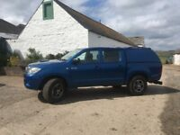 2010 Toyota Hilux Double cab pickup NO VAT High milage but meticulously maintained