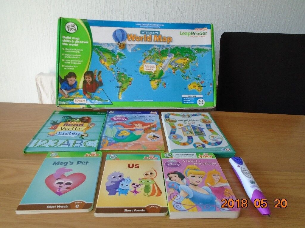 Leap frog interactive world map game and book bundle in south leap frog interactive world map game and book bundle gumiabroncs