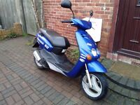 2005 MBK Ovetto 100 automatic scooter, new 1 year MOT, 2 stroke engine, good runner, bargain, yamaha