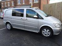 2013 Mercedes Vito Sport compact 116 163bhp Window (Dualiner) Van. FSH. NO VAT. 3 seats, High spec