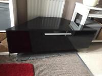 Tv Cabinet - glass/corner