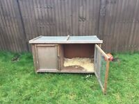 Rabbit hutch + waterproof cover