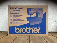 Brother innovis CS-8080 computerised sewing machine. Brand new in unopened box. Ideal Xmas Present.
