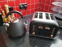 Kettle and toaster.