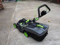GTECH BATTERY LAWNMOWER 2 Y/O £ 125. Buyer to collect